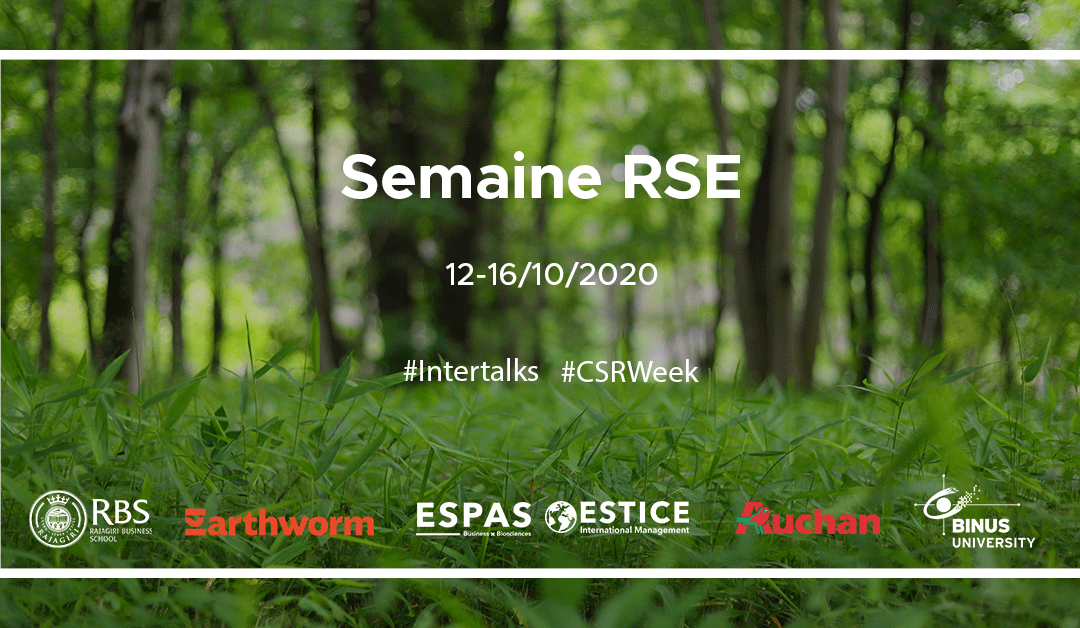 La semaine RSE – un challenge durable pour nos étudiants!